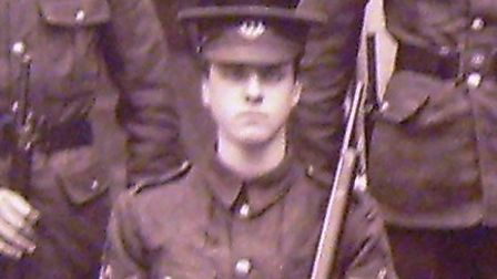 Former Highgate School head boy Murray Stuart Pound, who died from wounds after fighting in the Firs