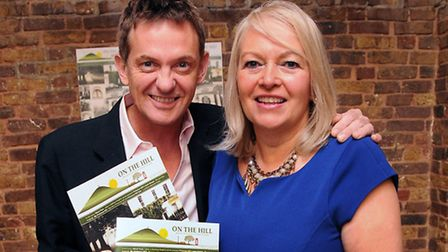 Matthew Wright joins editor of On the Hill Janet Reuben. Picture: Dieter Perry