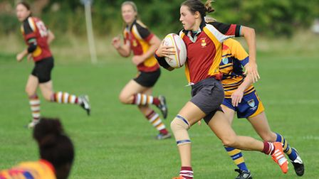 Lilly Hunt in action for Hampstead Ladies. Pic: Paolo Minoli