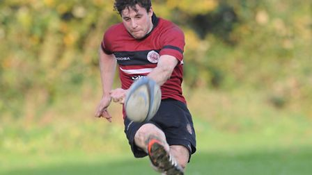 Matt Jacobs in action for UCS Old Boys. Pic: Paolo Minoli