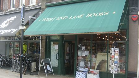 West End Lane Books was targetted by thieves over the weekend