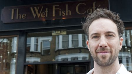 Andre Millodot owner of Wet Fish Cafe