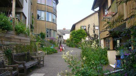 Spring Hill co-housing, Stroud
