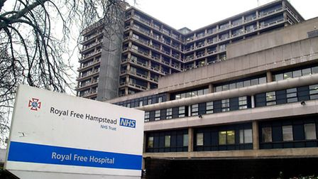 Royal Free Hospital is to tackle its poor A&E waiting times. Picture: Nigel Sutton