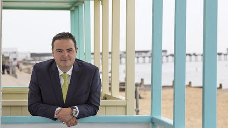 Lyndon Barrett-Scott, general manager at the Swan Hotel in Southwold.Picture: Sarah Groves