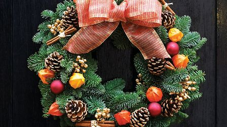 Christmas Wreath, PA Photo/Handout/Tobias Smith