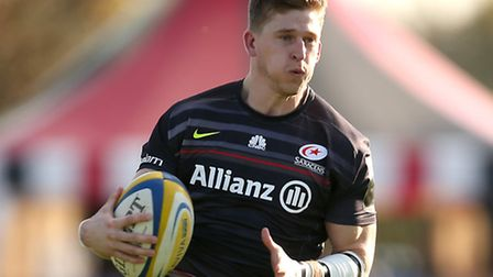 Saracens' David Strettle. Pic: Jordan Mansfield/Getty Images