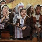 Children of Gayhurst Primary School perform in the annual Winter concert at the Round Chapel