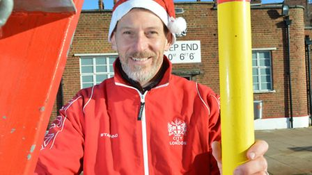 Hampstead Heath's senior supervisor of swimming facilities Paul Jeal at Parliament Hill Lido. Pictur