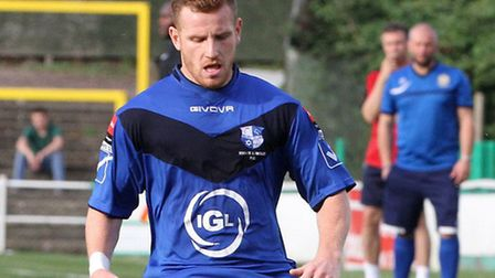 Wingate & Finchley striker David Knight will spend Christmas Day at the top of the goalscoring chart