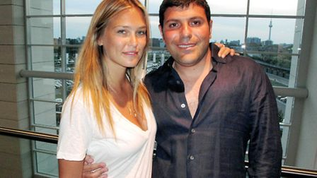 Israeli billionaire Teddy Sagi (pictured with model Bar Refaeli) now owns all four main markets in C