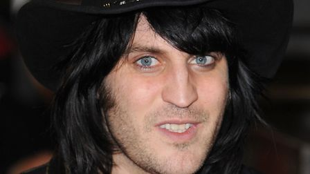 Noel Fielding arriving at the European Premiere of The Rum Diary, Odeon Cinema, Kensington High St,