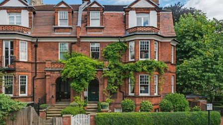 A 'typical' Hampstead property available through Benham & Reeves