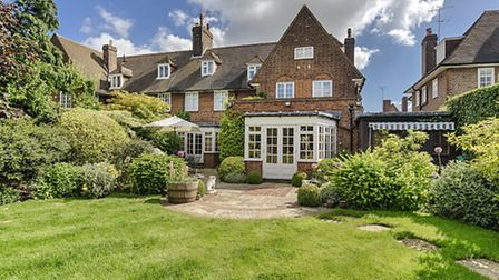 House on Heathgate in Hampstead Garden Suburb, NW11. Available through Glentree for £3.76 million