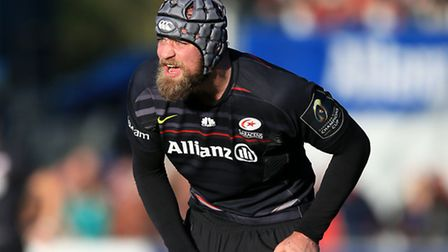 Saracens' South African captain Alistair Hargreaves