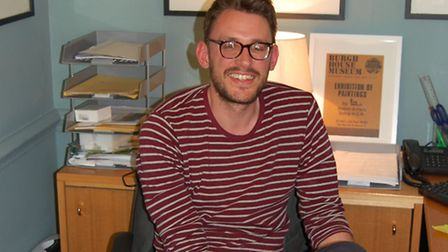 Andrew Hunt, 27, had worked at Burgh House in Hampstead for 18 months. Colleagues are devastated at