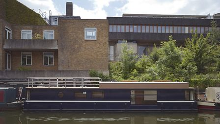 Living on the Water houseboat