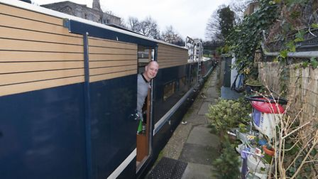 Pete Young Living on the Water at Cumberland Basin Regents Canal