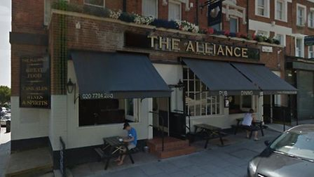 The young woman was a barmaid at The Alliance pub in Mill Lane, West Hampstead