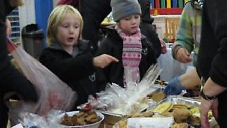 Pupils sell cakes to raise money for the Ebola appeal