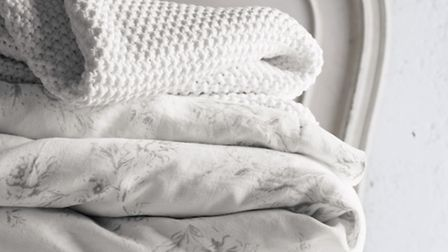 Finlay throws and Emilie duvet cover, Thewhitecompany.com. PA Photo/Handout
