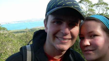 Tragic: Jacob Marx and his girlfriend Natalie Chung had planned to get married
