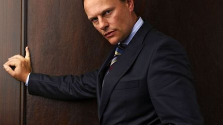 Actor Neil Stuke as chambers clerk Billy Lamb in the BBC One drama series Silk. Picture: BBC/Phil Fi
