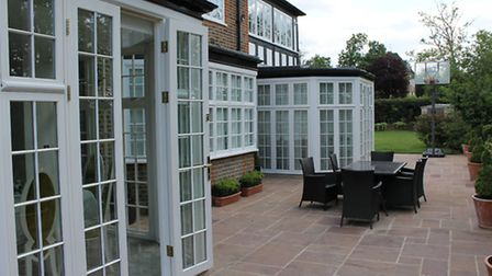 The unapproved conservatories built by Lawee.