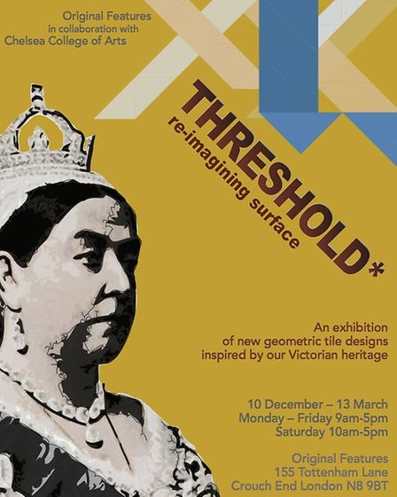 Threshold exhibition poster