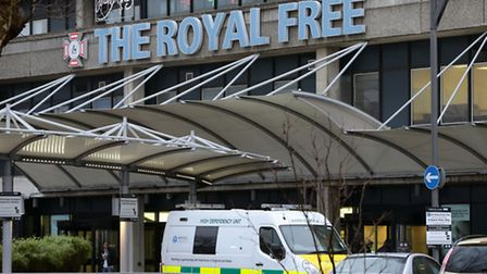 The Royal Free's A&E is struggling to meet government targets