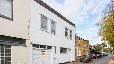 A mews house in Camden available through Sandfords