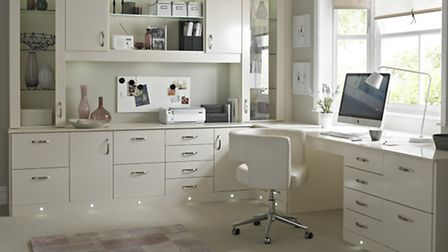 Brilliance home office or hobby corner, Betta Living. PA Photo/Handout