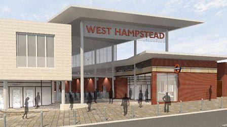 The proposed station would be five times as big as the current one