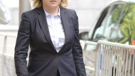 Natalia Cannon leaving Southwark Crown Court during her trial in June last year.Picture:Jamie