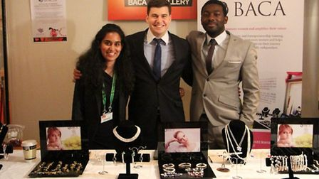 Kevin Ackermann and the Baca team at the Global Summit to End Sexual Violence in Conflict