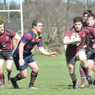 UCS Old Boys centre Matt Jacobs (right) is on his way back from injury. Pic: Nick Cook/UCS Old Boys