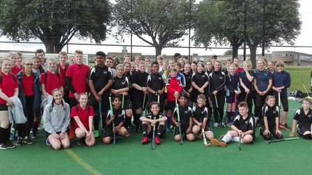 Students from The Hewett Academy and Jane Austen College in Norwich, Cromer Academy, and East Point