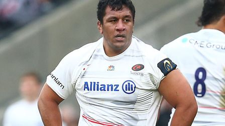 Saracens' Mako Vunipola. Pic: Matthew Impey/Wiredphotos.co.uk
