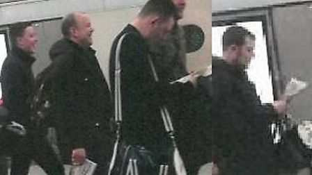 Do you know these men? Police believe that the men in these photos can help them with their investig