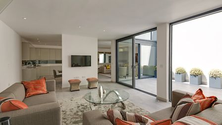 Three bedroom mews house on Beethoven Street. Available through Abacus Estates for �1,495,000