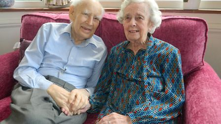 Harold and Renee Gaze will celebrate 75 years of marriage next month