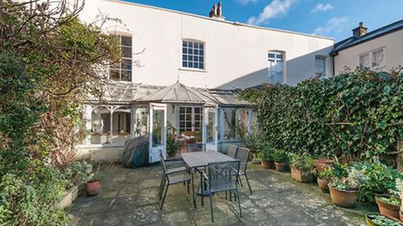 Garden of Highate West Hill available through Benham & Reeves for £2.85 million is moments from Hamp