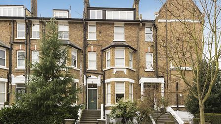 Elsworthy Terrace overlooks Primrose Hill. This two-bedroom flat is available through Arlington Resi