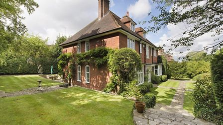 Five-bedroom house on Hampstead Way, next to Hampstead Heath extension. Available through TK Interna