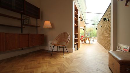 Side and rear extension in Queen's Park, NW6, by LBMV Architects