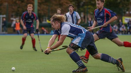 Richard Alexander (left) in action for Hampstead & Westminster. Pic: Mark Clews
