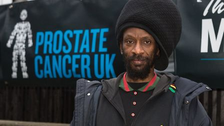 Dennis Rootical attends the launch of UK Prostate Cancer's new UK advert at Anchor Bankside in South