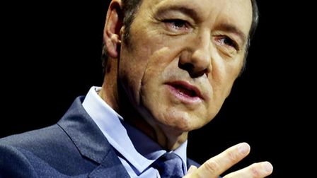 Kevin Spacey is the star of House of Cards. Picture: PA/David Cheskin.