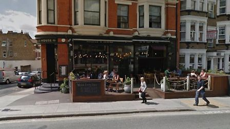 The driver was also said to have crashed into the Alice House pub in West End Lane, West Hampstead.