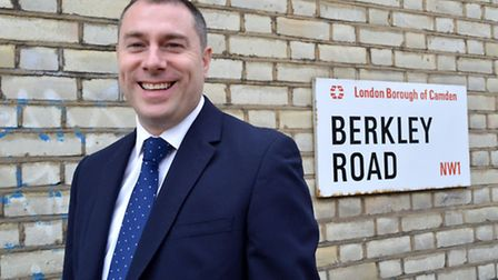 Ricky Dengal, from Sandfords estate agents, Primrose Hill
